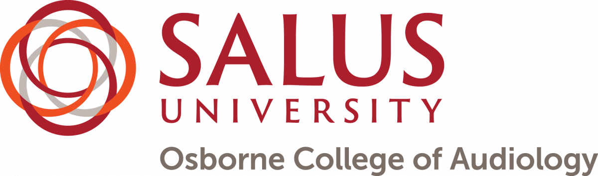 Logo de Salus University Osborne College of Audiology